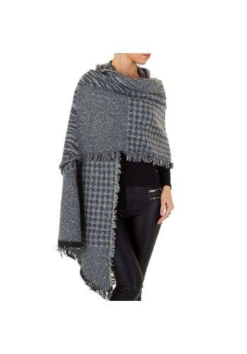 HOLALA Damen Schal extra groß Gr. eine Größe - grau