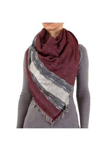 Best Fashion Damen Schal Gr. eine Größe - weinrot