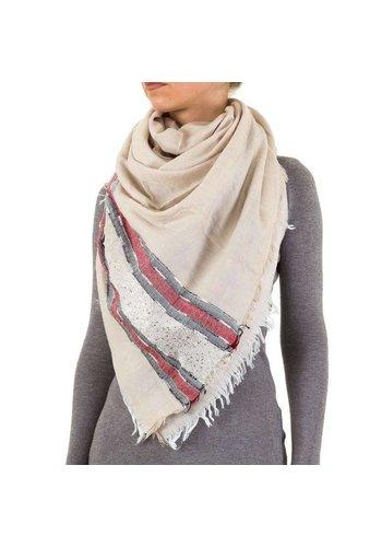 Best Fashion Dames Sjaal Gr. een maat - crème