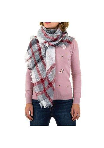 Best Fashion Dames sjaal van Best Fashion Gr. een maat - wit