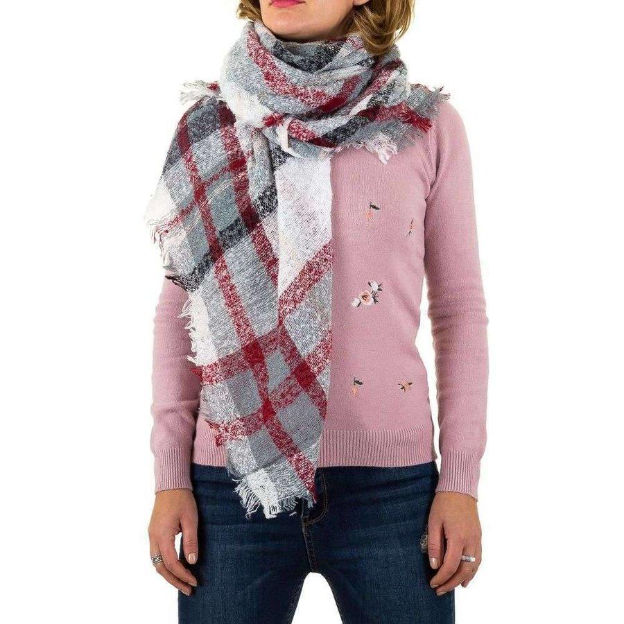 Damen Schal von Best Fashion Gr. eine Größe - weiß