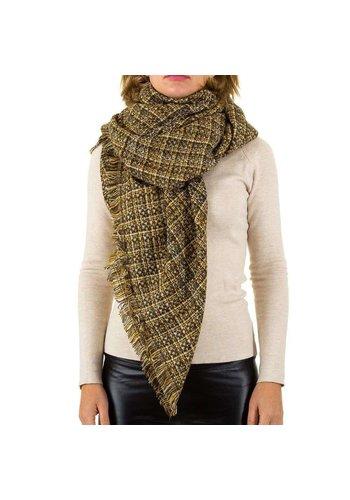 Best Fashion Dames sjaal van Best Fashion Gr. één maat - geel