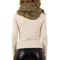 Damen Schal von Best Fashion Gr. eine Größe - gelb