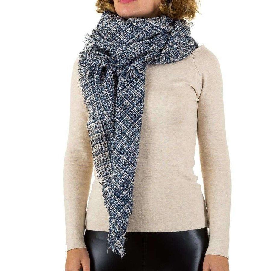 Damen Schal von Best Fashion Gr. eine Größe - blau
