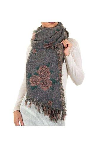 Best Fashion Damen Schal von Best Fashion Gr. eine Größe - grau