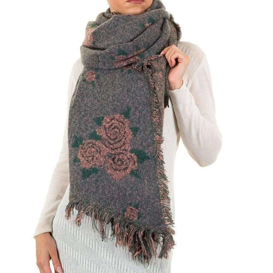 Damen Schal von Best Fashion Gr. eine Größe - grau