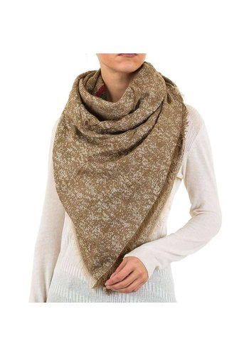 Best Fashion Dames sjaal van Best Fashion Gr. één maat - beige