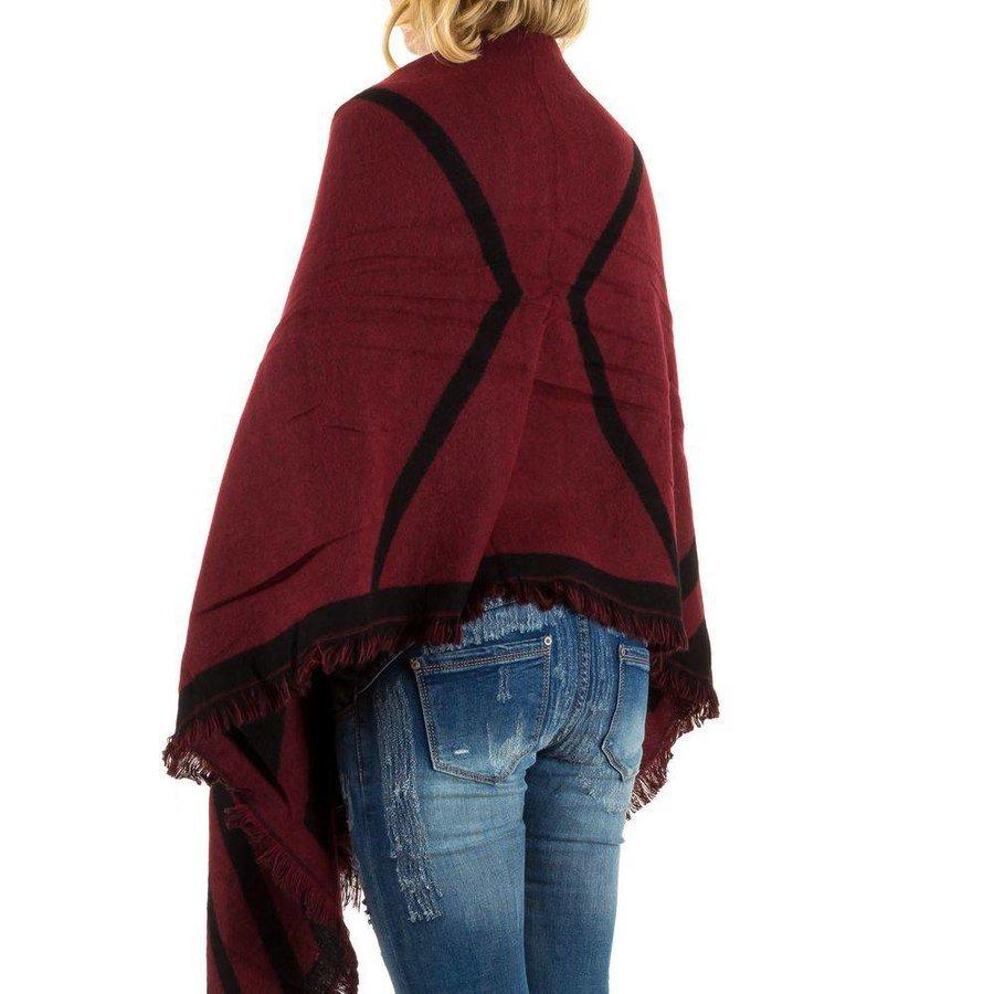 Damen Schal von Best Fashion Gr. one size - red