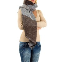 Damen Schal von Best Fashion Gr. one size - brown