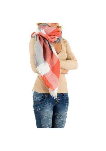 Best Fashion Dames Sjaal Gr. one size - koraal