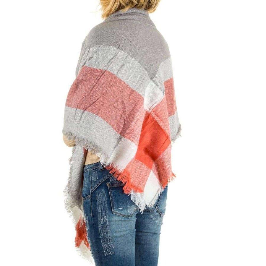 Damen Schal von Best Fashion Gr. one size - coral