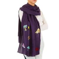 Damen Schal von Best Fashion Gr. one size - violet