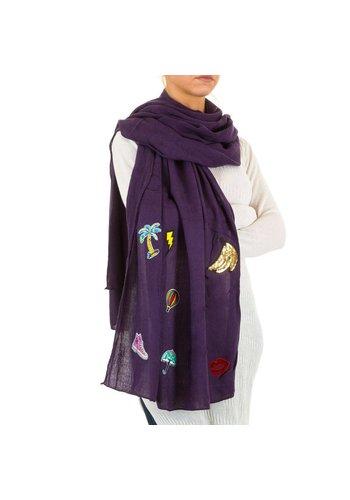 Neckermann Damen Schal von Best Fashion Gr. one size - violet