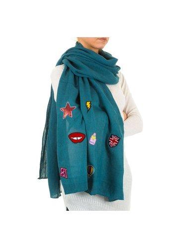 Neckermann Damen Schal von Best Fashion Gr. eine Größe - Benzin