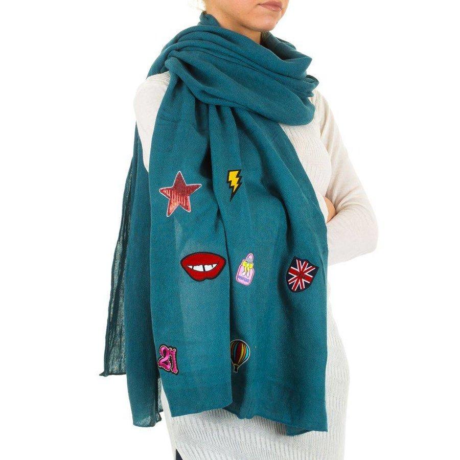 Damen Schal von Best Fashion Gr. eine Größe - Benzin
