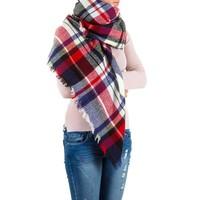 Damen Schal Gr. eine Größe - multi