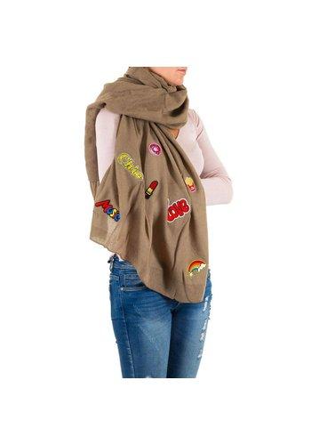 Best Fashion Damen Schal Gr. eine Größe - Taupe