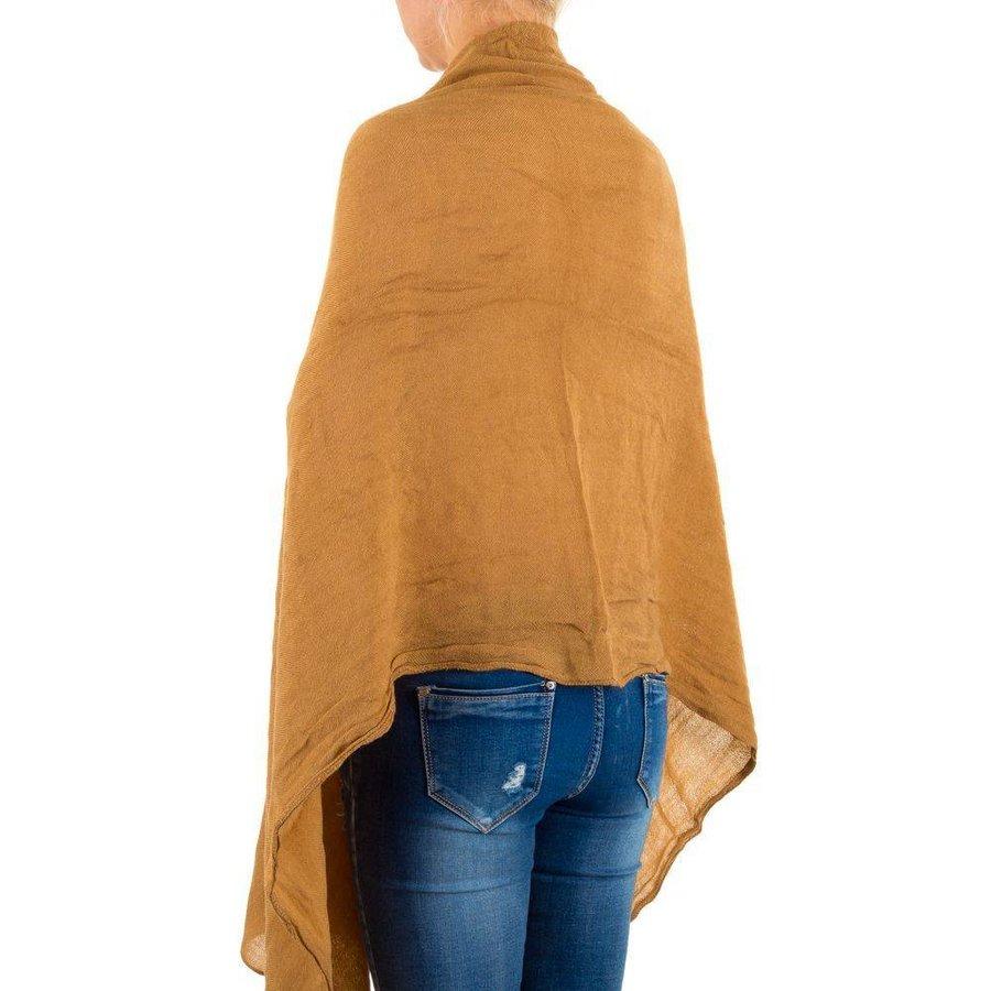 Damen Schal von Best Fashion Gr. one size - camel