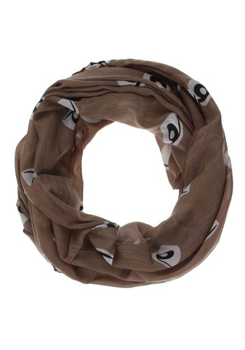 Neckermann Dames Sjaal Gr. one size - taupe