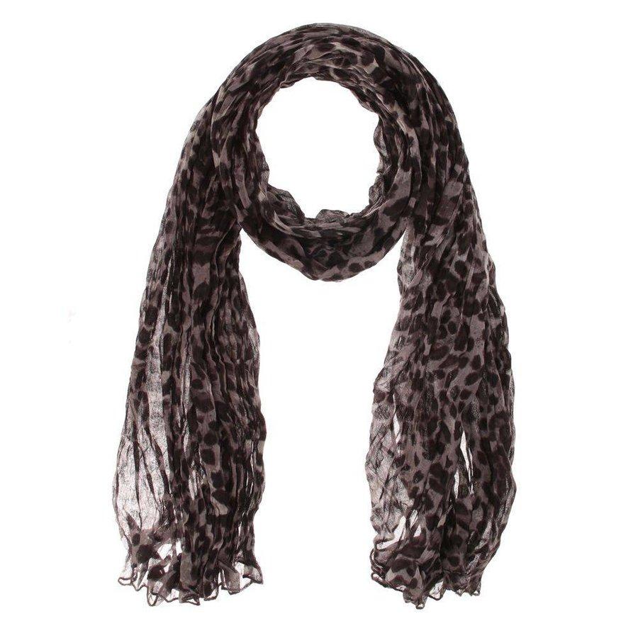 Damen Schal Gr. eine Größe - grau