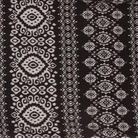 Damen Schal Gr. eine Größe - schwarz