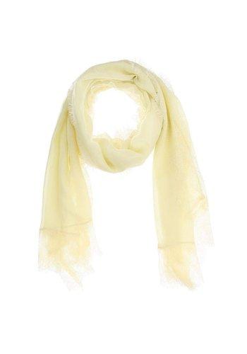 Best Fashion Dames Sjaal  Gr. één maat - geel