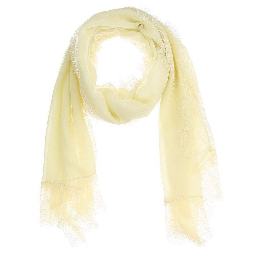 Damen Schal Gr. eine Größe - gelb