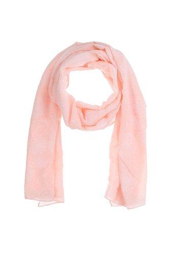 Best Fashion Dames Sjaal Gr. één maat - roze
