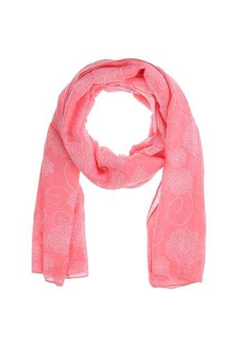 Best Fashion Dames Sjaal Gr. een maat - roze