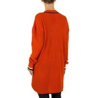 Großer Damenpullover Gr. eine Größe - rot