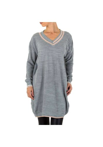 Milas Grand pull femme Gr. une taille - gris