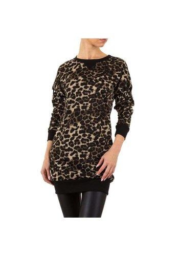 EMMA&ASHLEY Dames Sweater - leopard