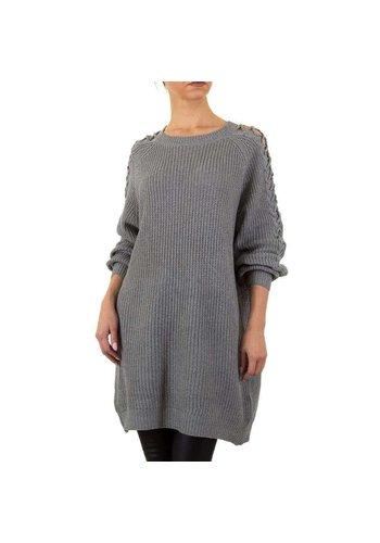 EMMA&ASHLEY Ruime dames Sweater Gr. een maat - grijs