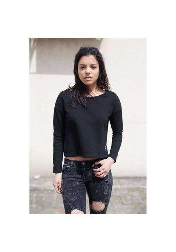 SIXTH JUNE PARISIENNES Damen Sweatshirt von Sixth June Parisiennes - blac