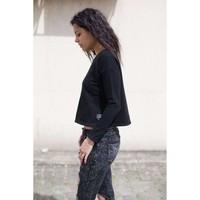 Damen Sweatshirt von Sixth June Parisiennes - blac