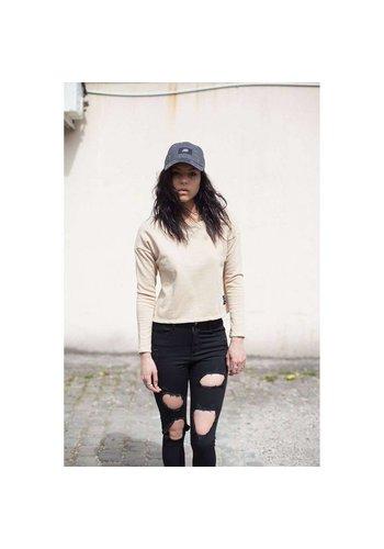 SIXTH JUNE PARISIENNES Dames sweatshirt van Sixth June Parisiennes - beige