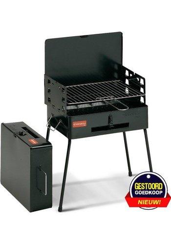 Ferraboli Houtskoolbarbecue - Pic Nic - zwart