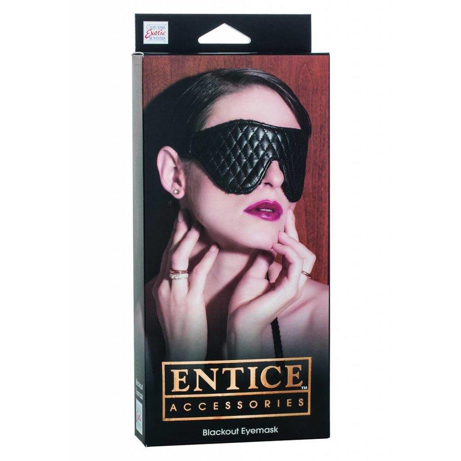 Erotische Black-out-Augenmaske