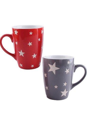Neckermann Stardesign Kaffeebecher 11x8cm, aus Keramik,