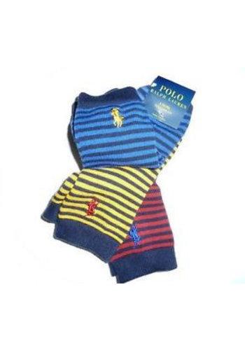 Ralph Lauren Kindersokken - maat 2-4 - 3 paar
