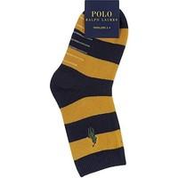 Kindersokken - rugby streep - maat 2-4 - 3 paar