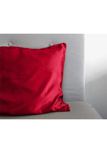 Sleeptime Kussensloop Beauty Skin Care rood