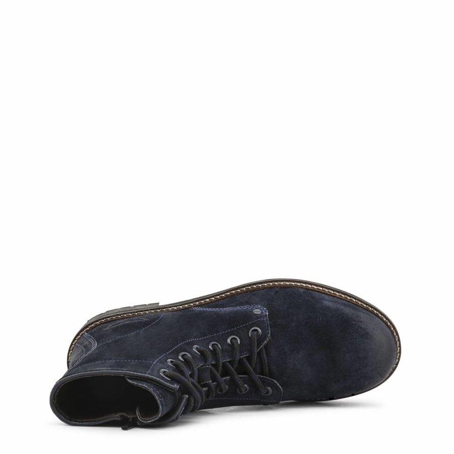 Herren Stiefeletten INDIAN-MID_7044 - blau