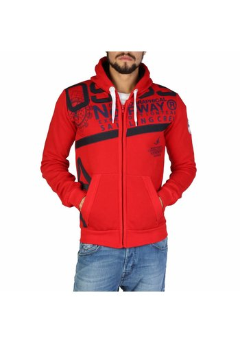 Geographical Norway Männer Swaeater Gilba_man - rot