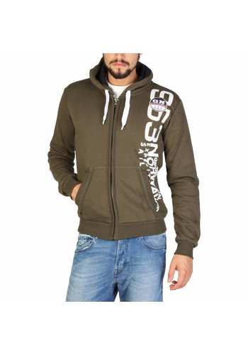 Geographical Norway Pull pour homme Gandinsky_man - kaki