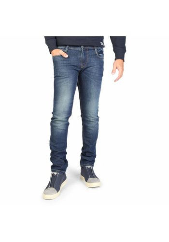Rifle Jeans pour hommes 94430_L32_SA0PU - bleu