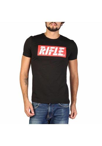 Rifle Carabine Tee shirt Homme L695Q_FW599 - noir