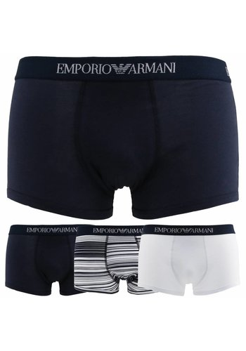 Emporio Armani Boxers Hommes 3PACK_7P722