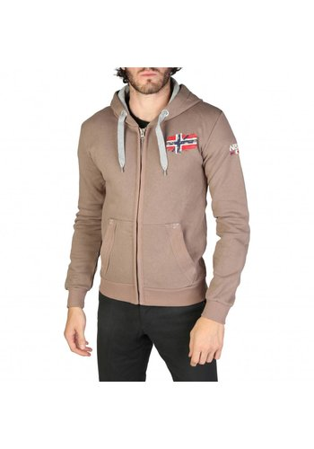 Geographical Norway Heren Vest Glacier_man - taupe