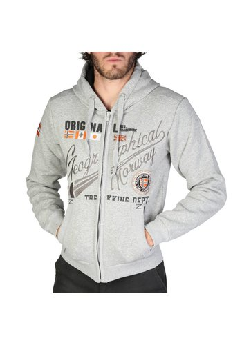 Geographical Norway Gilet Homme Foliday_man - gris
